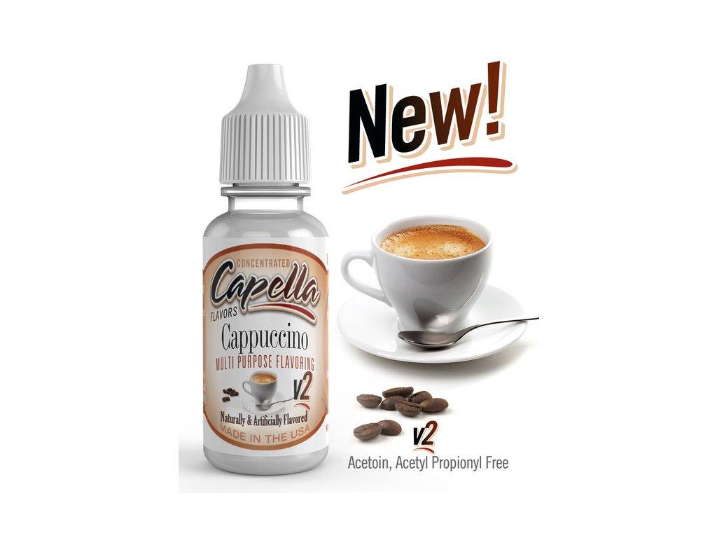 Capella Cappuccino v2 (Kapučíno) Aroma
