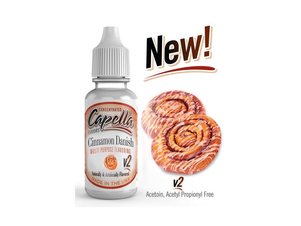 Capella Cinnamon Danish Swirl v2 (Skořicový koláček) Aroma