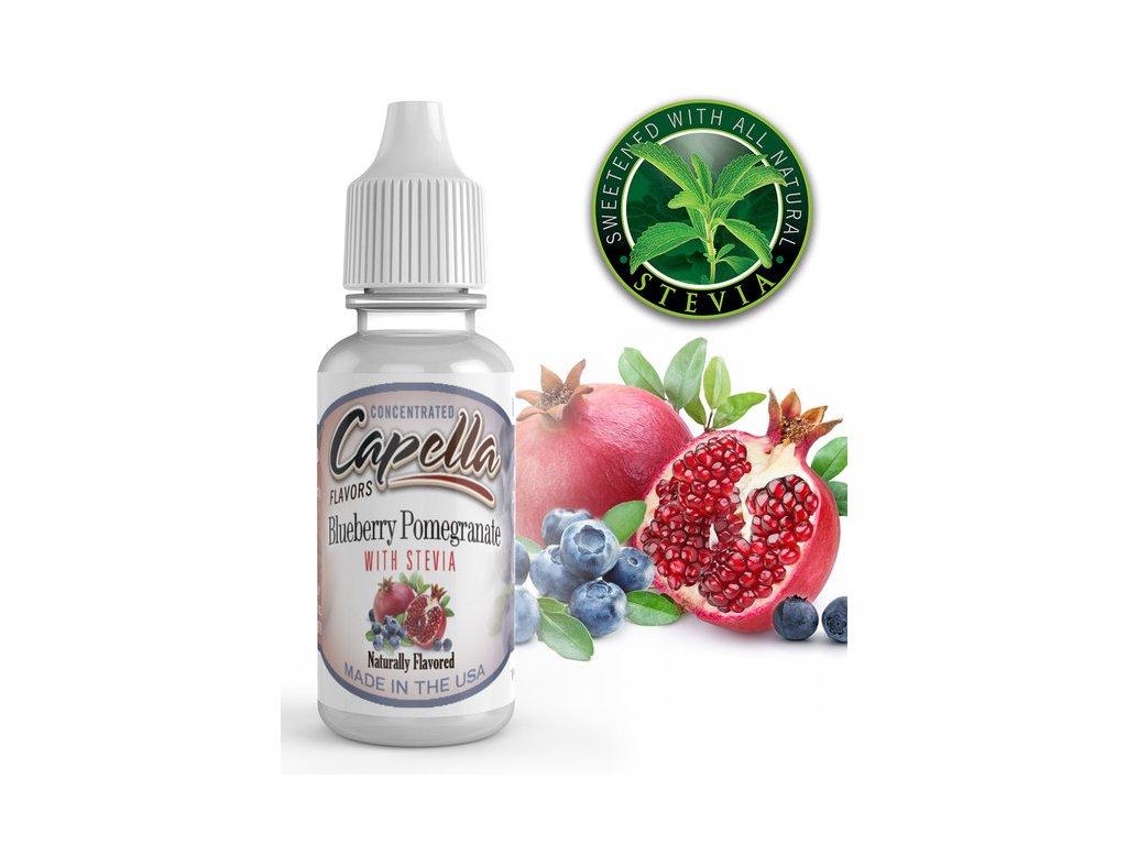 Capella Blueberry Pomegranate with Stevia (Granátové jablko a Stévie) Aroma