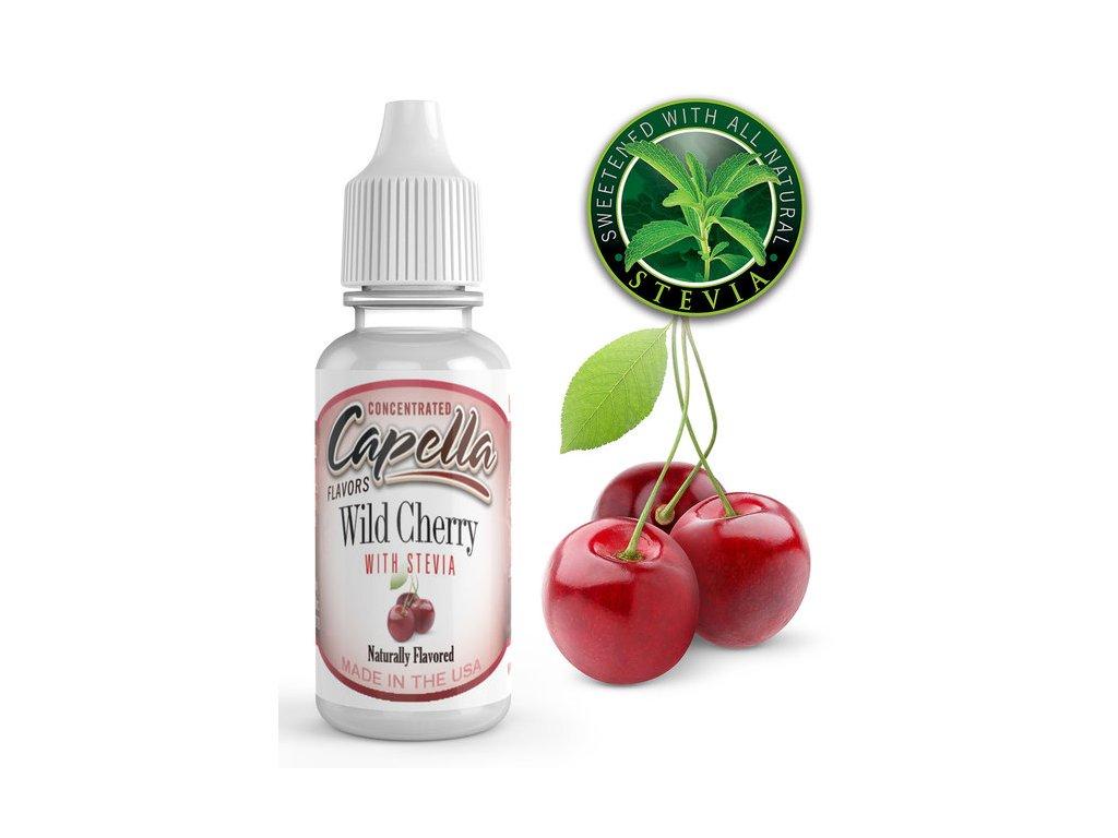 Capella Wild Cherry with Stevia (Třešeň a Stévie) Aroma