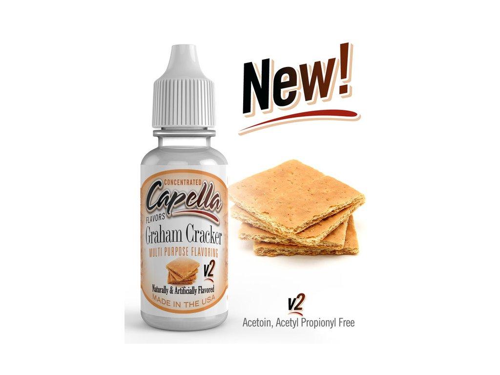 Capella Graham Cracker v2 (Sušenka Grahamová) Aroma