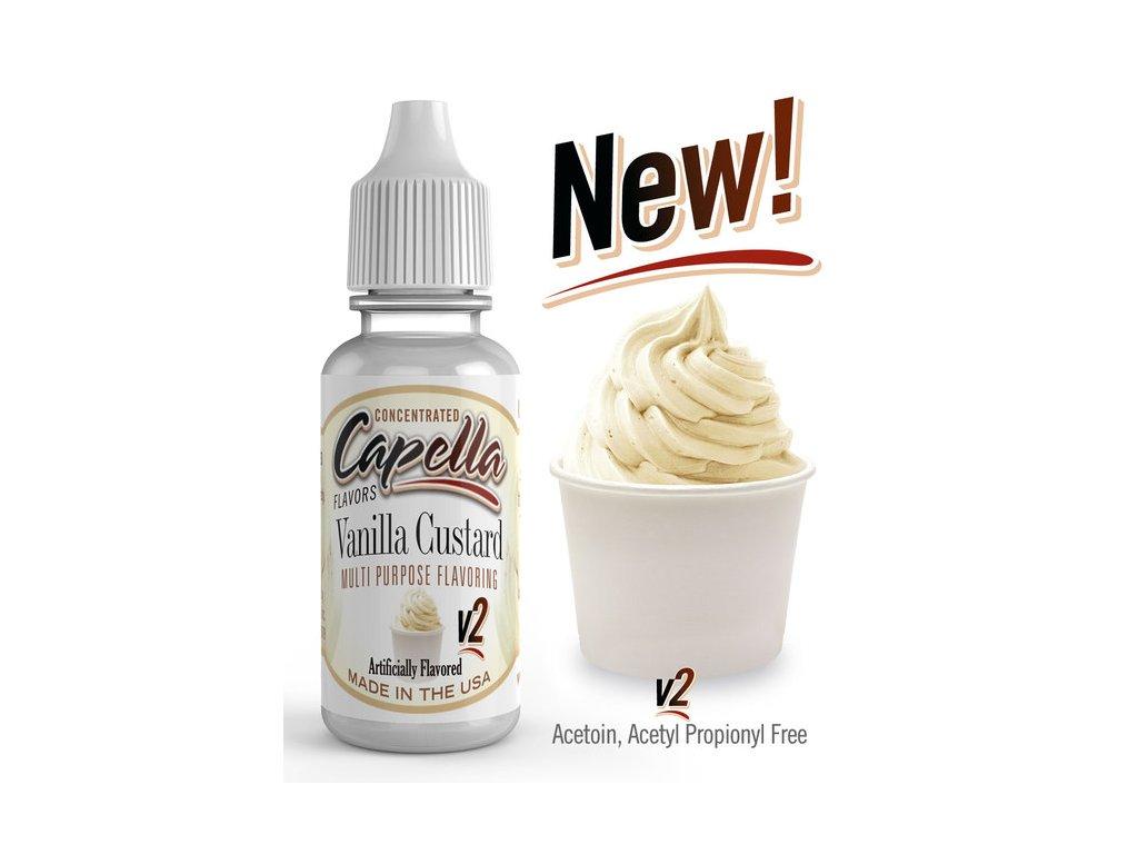 Capella Vanilla Custard v2 (Pudink Vanilka) Aroma