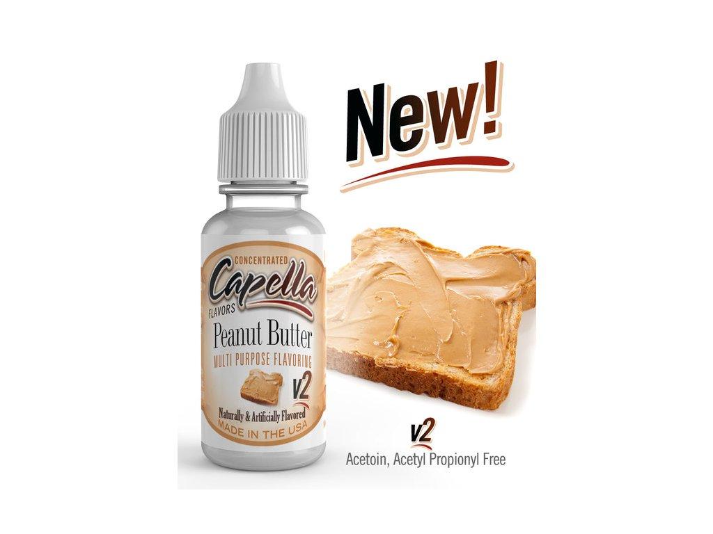 Capella Peanut Butter v2 (Burákové máslo) Aroma