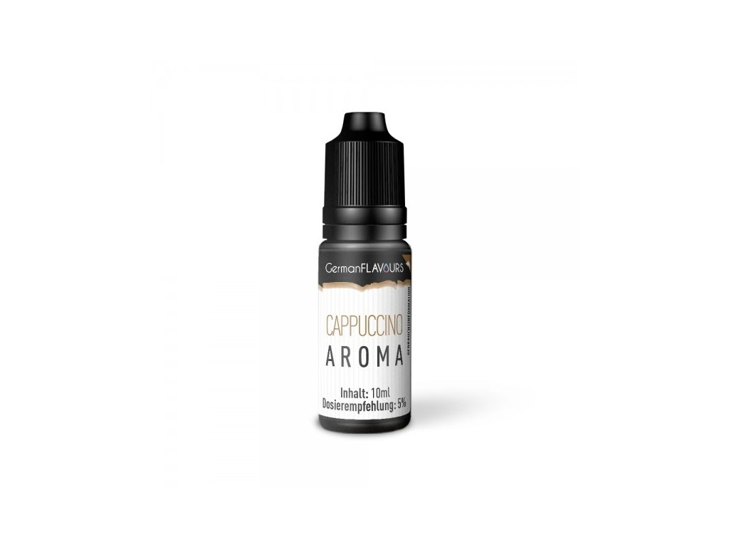GermanFLAVOURS Cappuccino (Kapučíno) Aroma