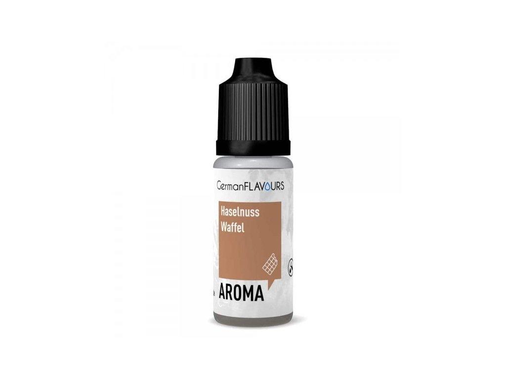GermanFLAVOURS Haselnuss Waffel (Oříšek a Vafle) Aroma