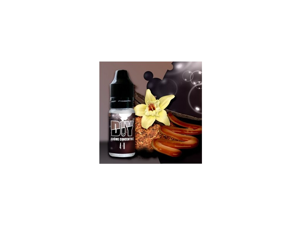 Revolute Classic: 4X Tabac Gourmand (Tabák, Vanilka a Karamel) Aroma
