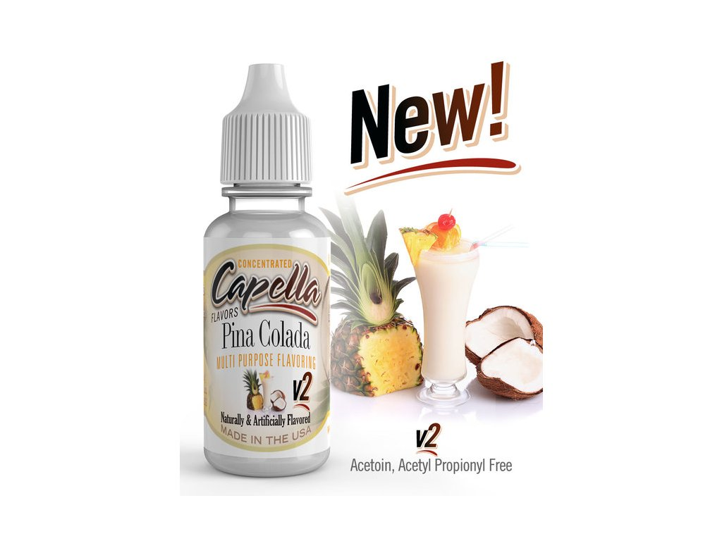 Capella Pina Colada v2 (Koktejl) Aroma