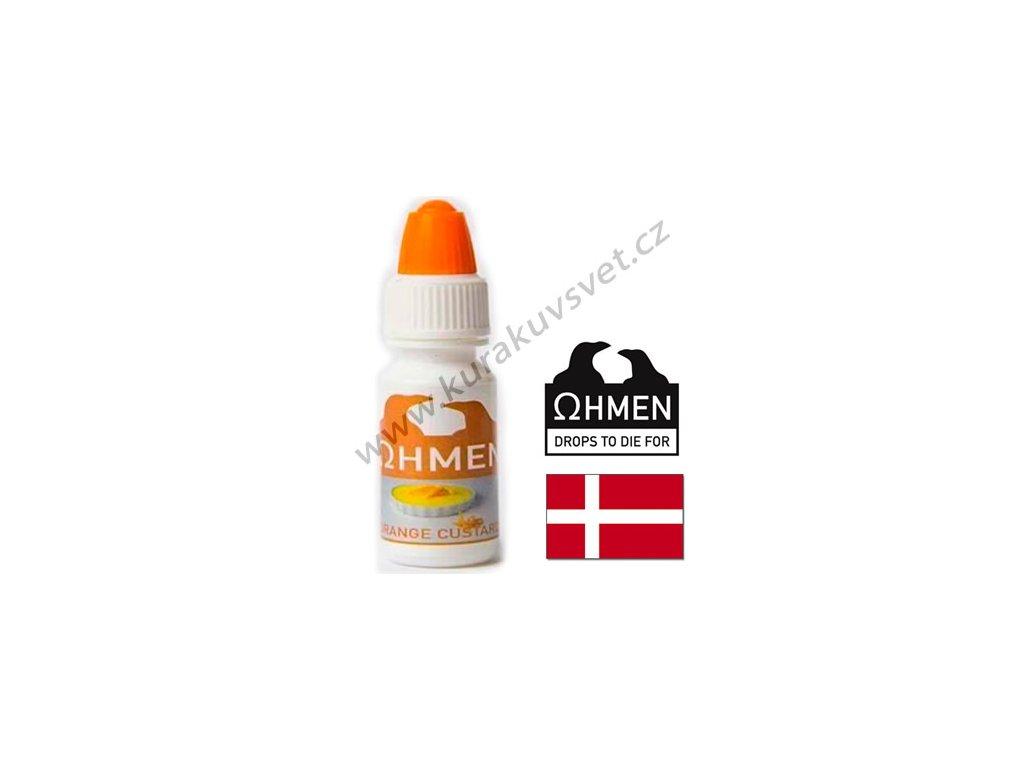 Ohmen Orange Custard (Pudink Pomeranč) Aroma