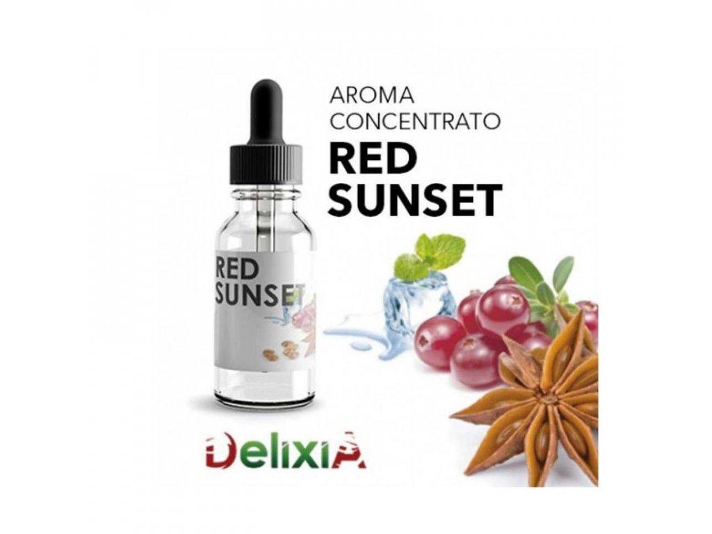 Delixia Red Sunset (Červené ovoce, Anýz a Máta) Aroma