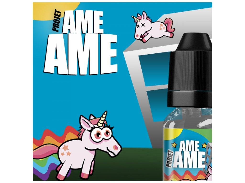 Revolute Vape OR DIY: Projet AME AME (Pudink Vanilka, Kukuřičné Cerálie a Jahoda) Aroma