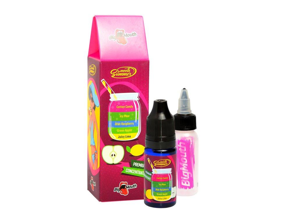 Big Mouth - Smooth Summer - Cotton Candy (Vata, Jablko, Malina, Hruška a Limetka) Aroma