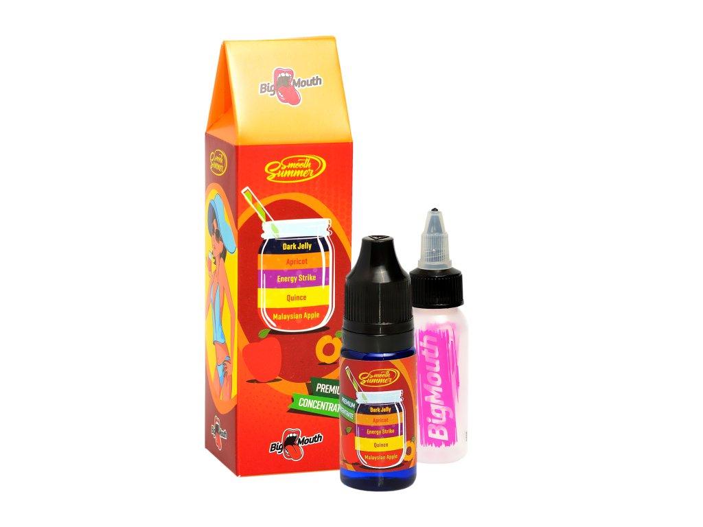 Big Mouth - Smooth Summer - Dark Jelly (Jablko, Kdoule, Energetický nápoj, Meruňka a Želé) Aroma