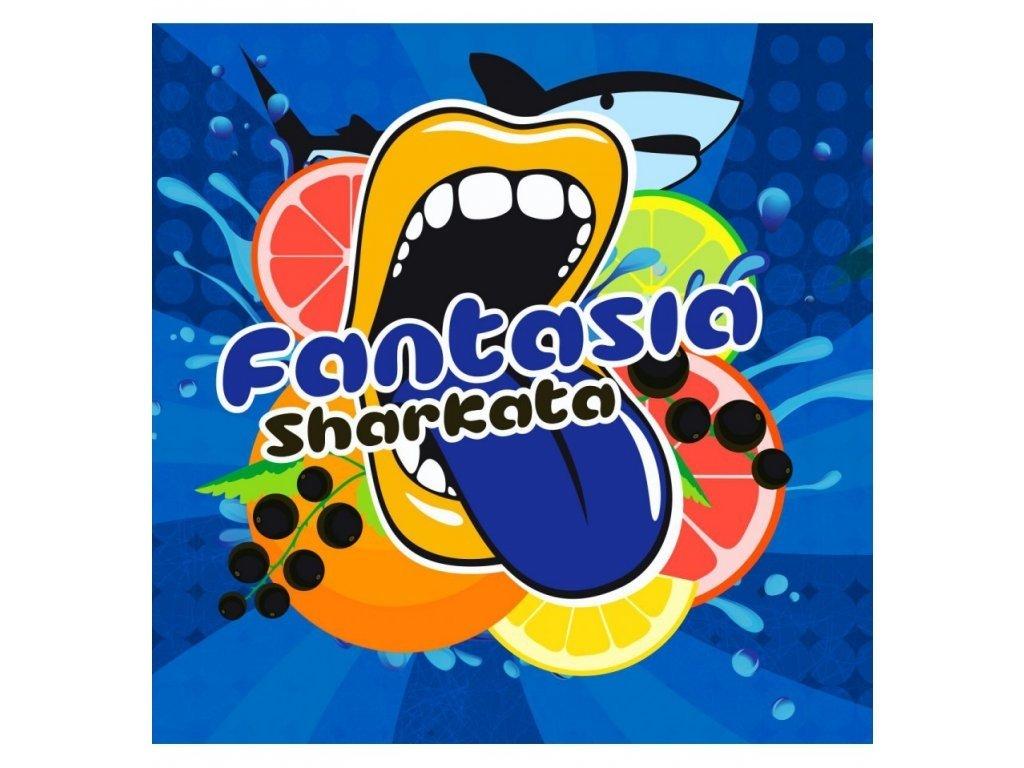 Big Mouth - Fantasia Sharkata (Limonáda, Grep a Borůvka) Aroma