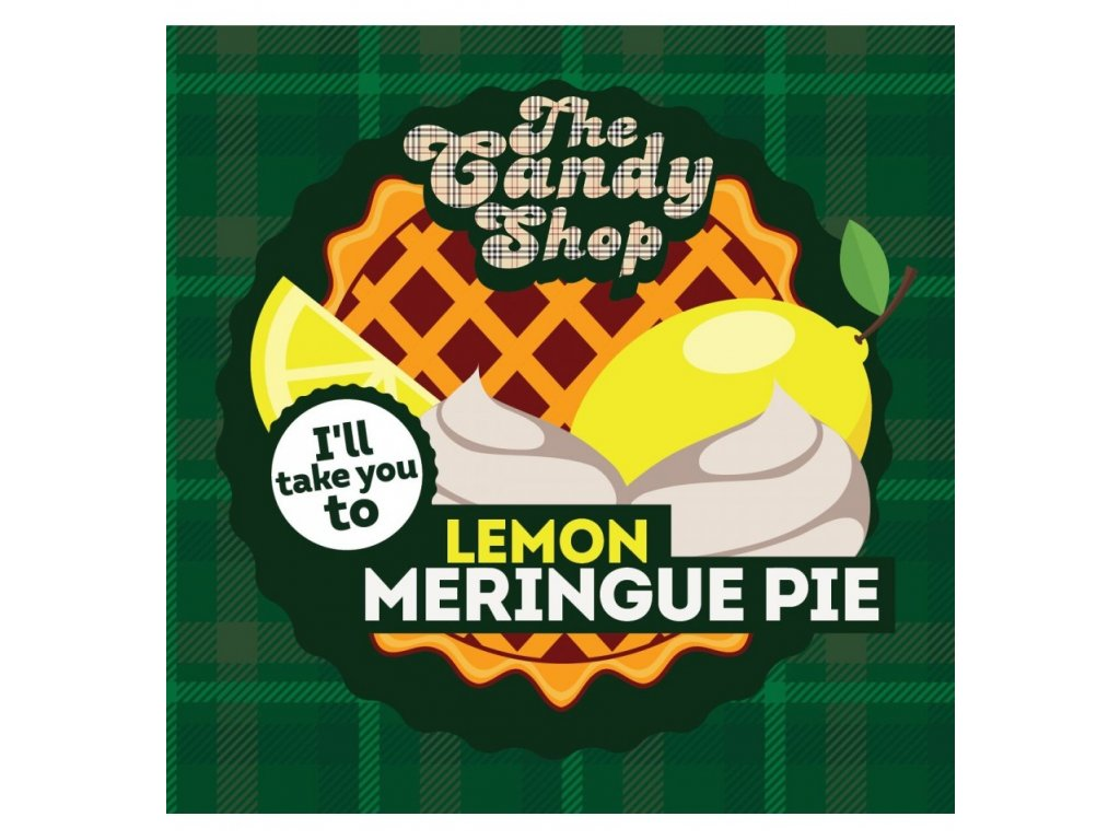 Big Mouth - The Candy Shop - Lemon Merinque Pie (Koláč a Citrón) Aroma