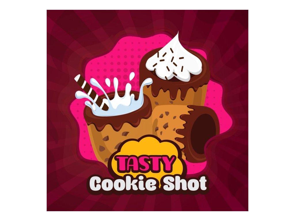 Big Mouth - Tasty - Cookie Shot (Sušenky, Čokoláda a Mléko) Aroma