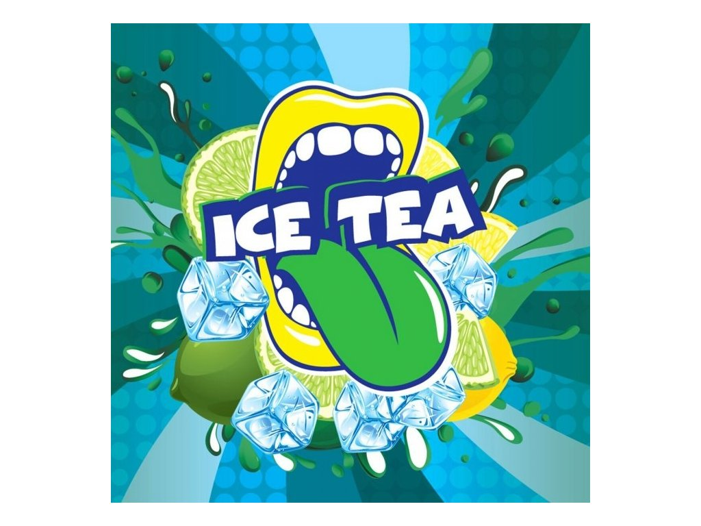 Big Mouth - Ice Tea (Čaj ledový, Limetka a Citrón) Aroma
