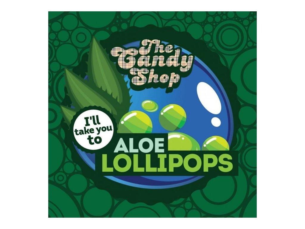 Big Mouth - The Candy Shop - Aloe Lollipops (Lízátko a Aloe) Aroma