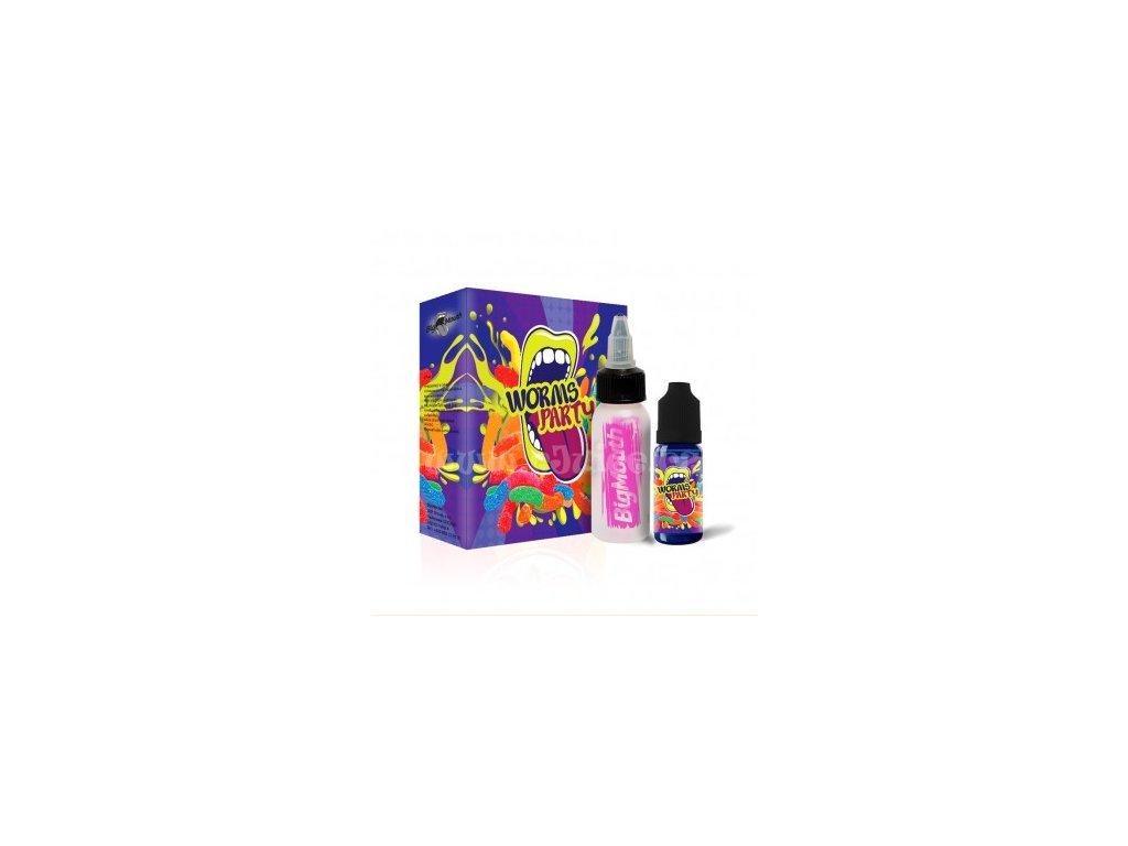 Big Mouth - Worms Party (Želé) Aroma