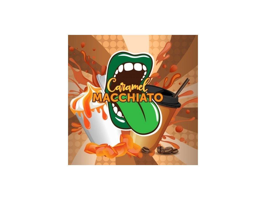 Big Mouth - Caramel Macchiato (Káva a Karamel) Aroma