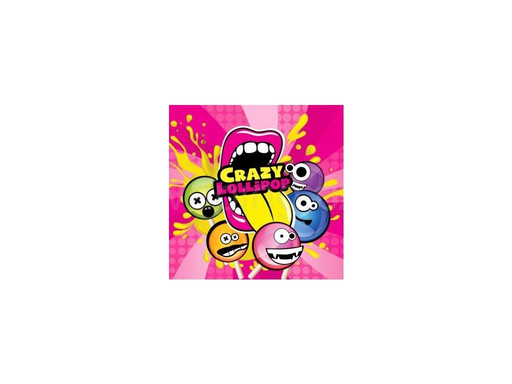 Big Mouth - Crazy Lollipops (Lízátko šumivé) Aroma