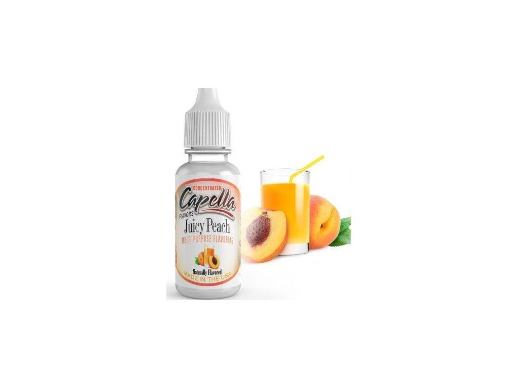 Capella Juicy Peach (Broskvový džus) Aroma