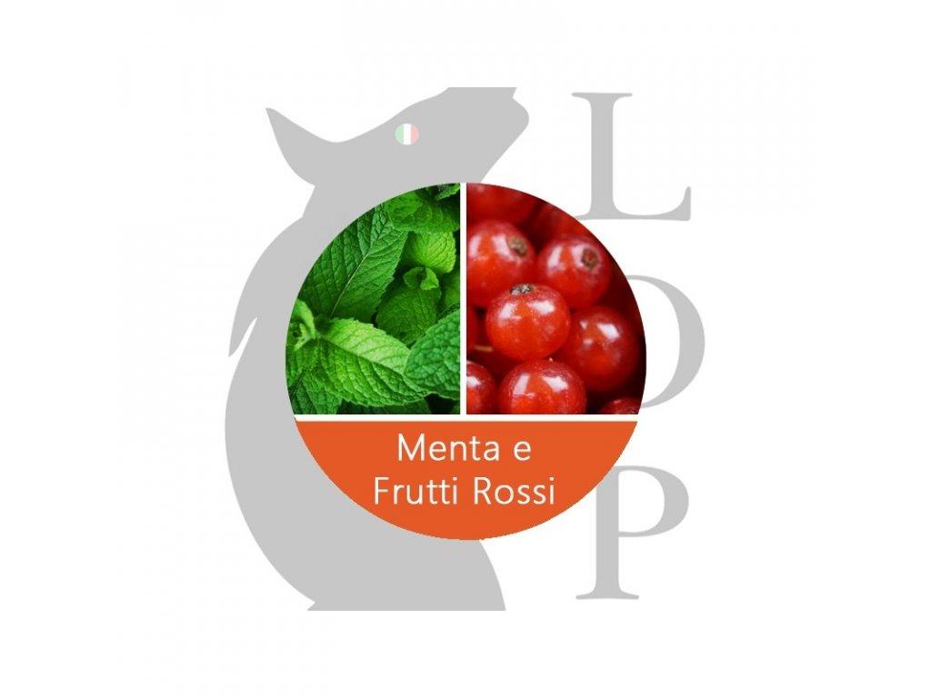 LOP Menta e frutti rossi (Máta, Ovoce červené) Aroma