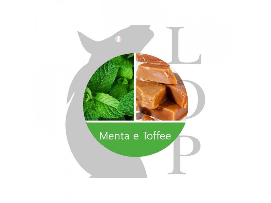 LOP Menta e toffe (Máta, Karamelka) Aroma