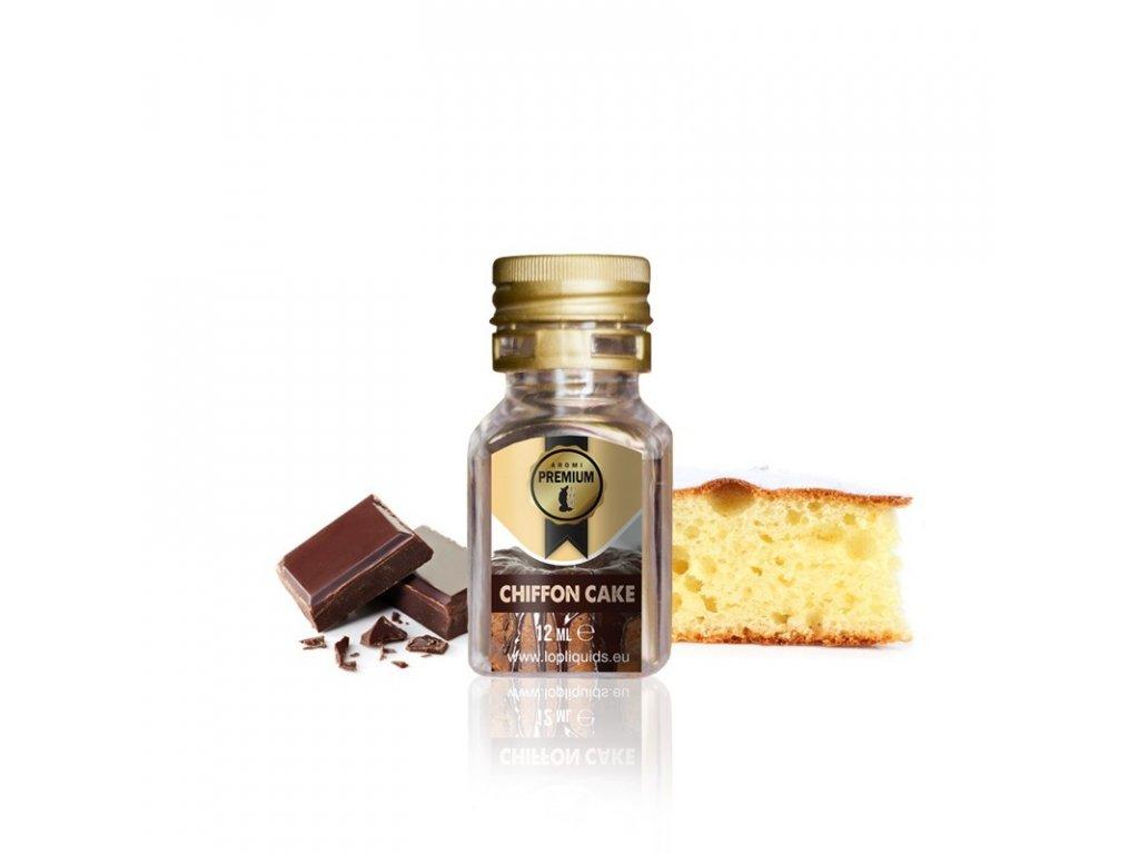 LOP Linea Premium Chiffon Cake (Koláč, Čokoláda) Aroma