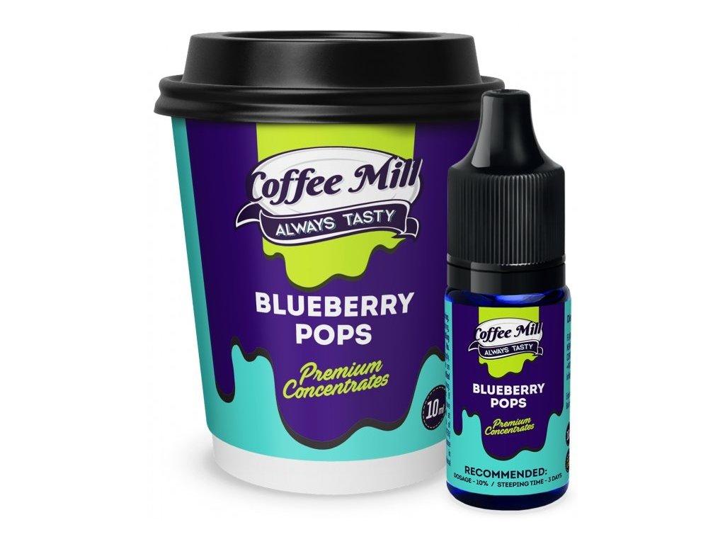 Coffee Mill Blueberry Pops (Bonbóny, Borůvka) Aroma