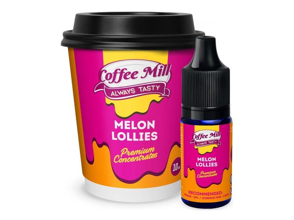 Coffee Mill Melon Lollies (Meloun, Lízátko šumivé) Aroma