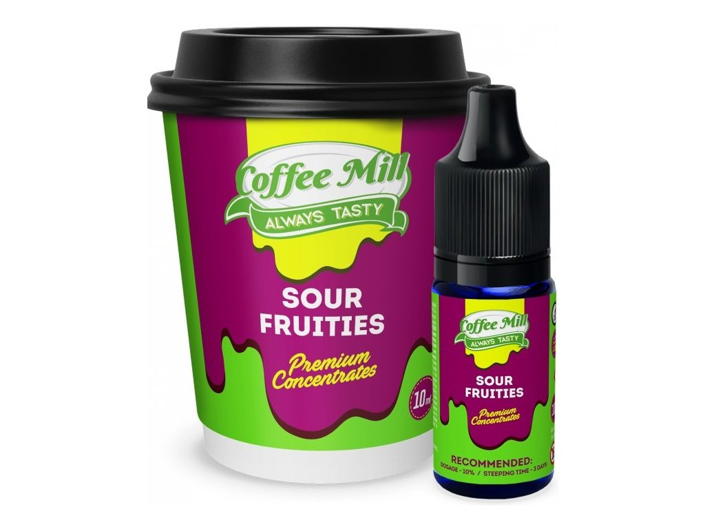 Coffee Mill Sour Frutties (Limetka, Grep, Pomeranč, Mandarinka) Aroma