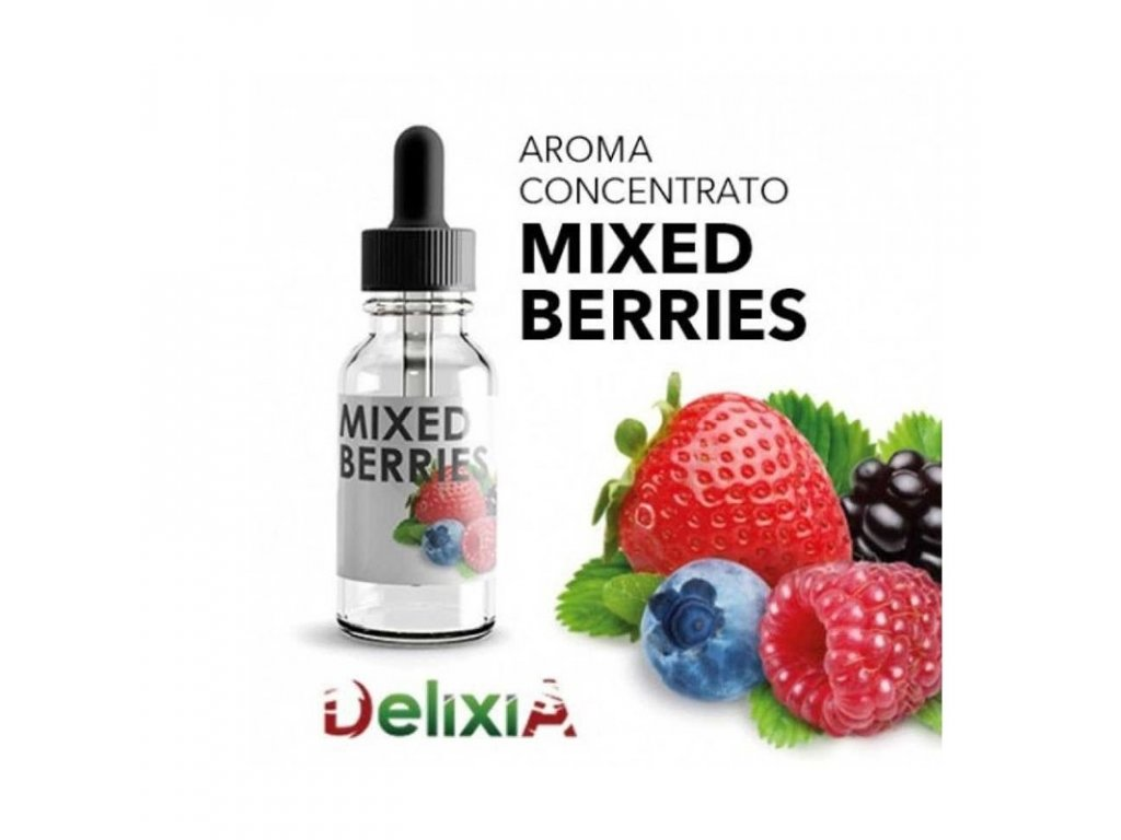 Delixia Mixed Berries (Lesní plody) Aroma