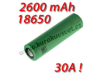 Sony US18650 VTC5 2600mAh HIGH DRAIN 30A