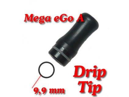Drip tip Mega ego-A černý