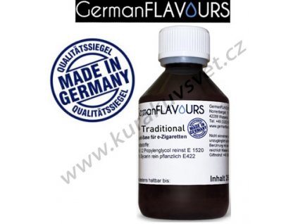 Báze Traditional GermanFlavours 0mg 100ml
