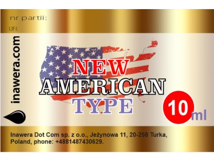 NEW AMERICAN TYPE.