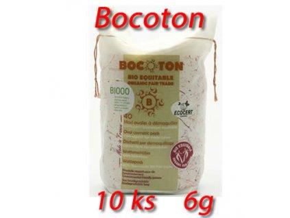 Bocoton 100% organická bavlna 6g (vata)