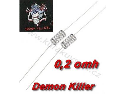 Demon Killer Notch Coil 316L  0.2Ω /2ks