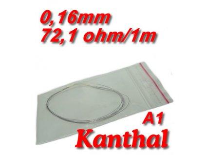 0,16mm odporový drát Kanthal A1 72,1ohmu