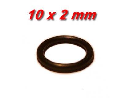 """5 ks """"O"""" kroužek 10x2mm"""
