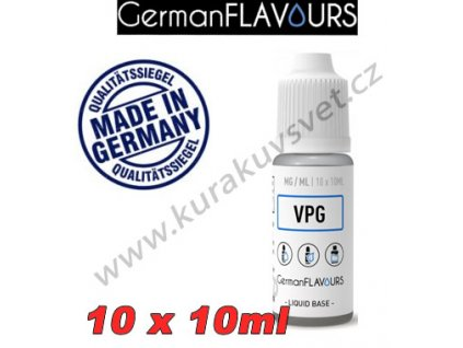 GermanFlavours báze VPG 50/50 6mg 100ml/10x10ml