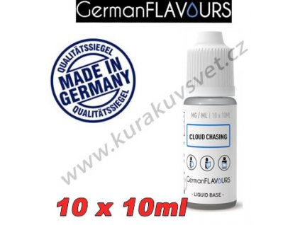 Báze Cloud Chasing GermanFlavours 6mg 100ml/10X10ml