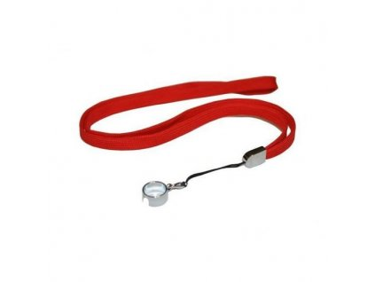 eGo šňůrka na krk (červená)