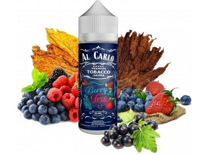 Al Carlo - Shake & Vape - 15ml Berry Tree (Tabák, Bobule)