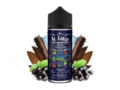 Al Carlo - Shake & Vape - 15ml Blackcurrant Leaves (Černý rybíz, Tabák)