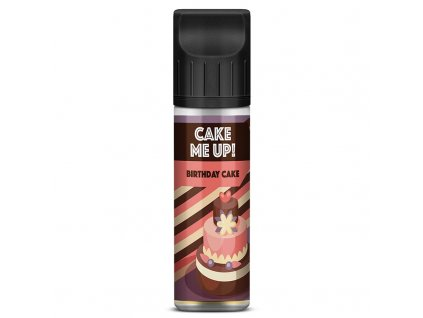 Cake Me Up - Birthday Cake - Shake & Vape - 20ml (Graham, Lesní plody, Krém)