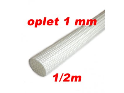 Sklokeramický oplet 1 mm