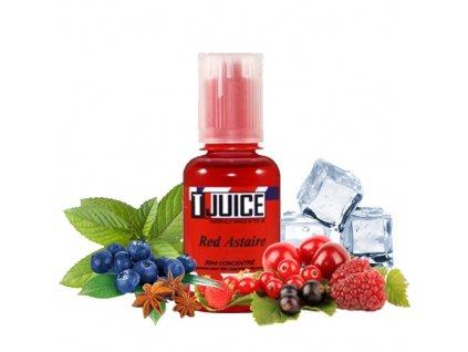 T-Juice Red Astaire (Červené bobule, Hrozny, Eukalyptus, Anýz, Menthol) Aroma