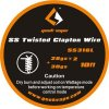 GeekVape Twisted Clapton SS316 Tape Wire, 3m  28GA*2/Twisted + 30G