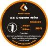 GeekVape Clapton SS316 Tape Wire, 3m 26GA + 30GA